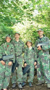 Family adventure and fun at Battlefield Live Pembrokeshire