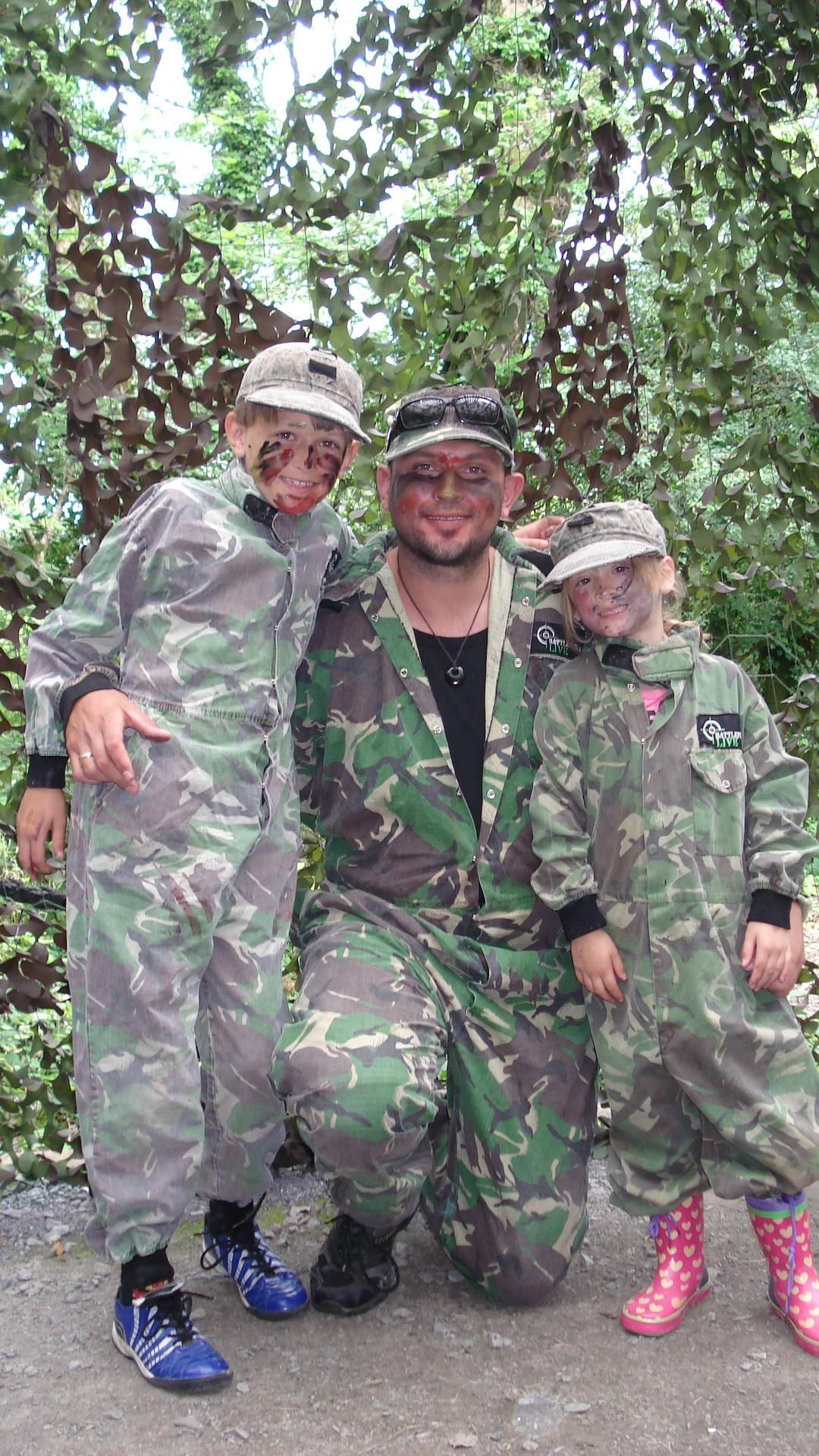 Family adventure and fun at Battlefield Live Pembrokeshire in the Wales Coaast Path