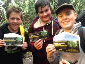 Winning Team of Survivors at Battlefield Live Pembrokeshire zombie apocalypse