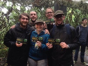 Winning Team of Survivors at Battlefield Live Pembrokeshire zombie apocalypse