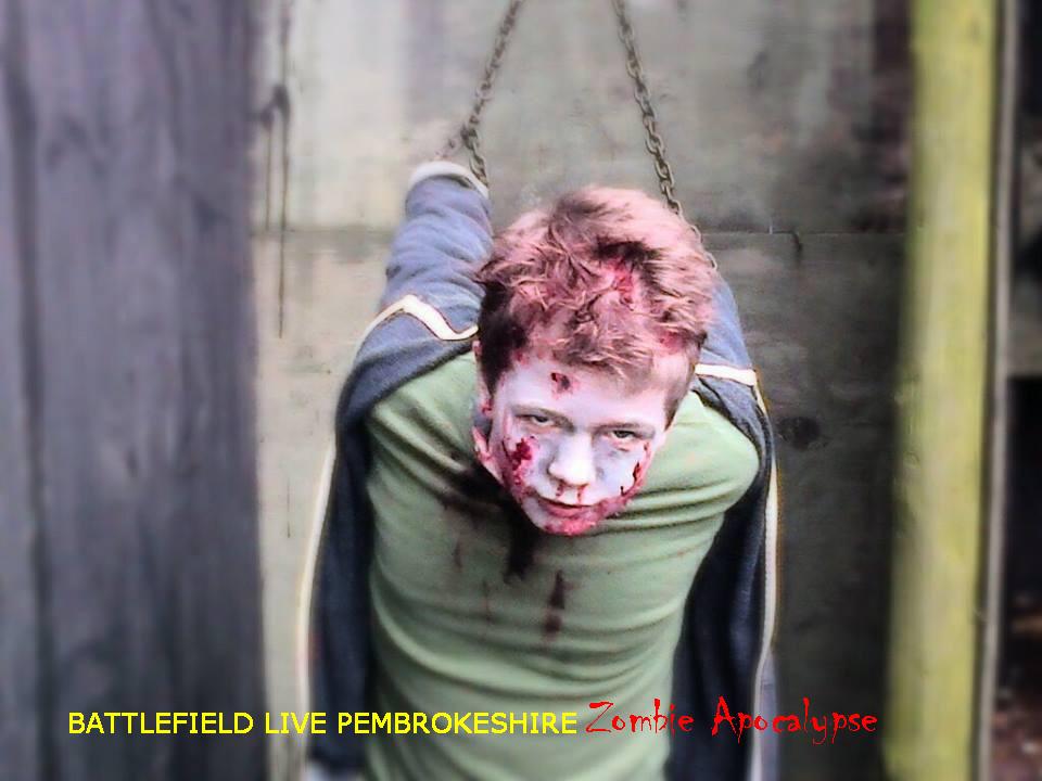 Zombie Apocalypse at Battlefield Live Pembrokeshire #zombies