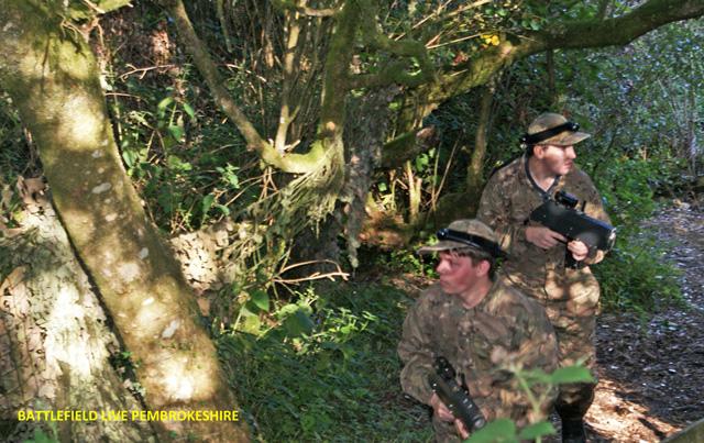 293 (Cowbridge) Sqn Air Cadets at Battlefield Live Pembrokeshire
