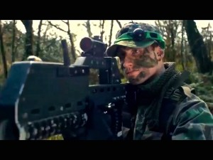 Outdoor laser combat at Battlefield Live Pembrokeshire