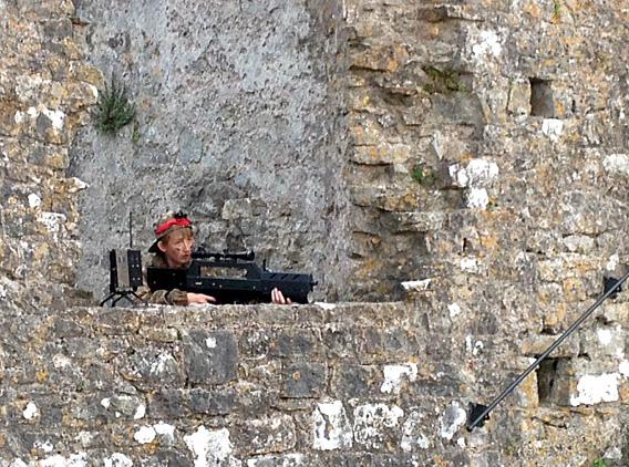Battlefield Live Pembrokeshire comes to Pembroke Castle