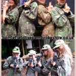 Awesome Laser Combat at Battlefield Live Pembrokeshire