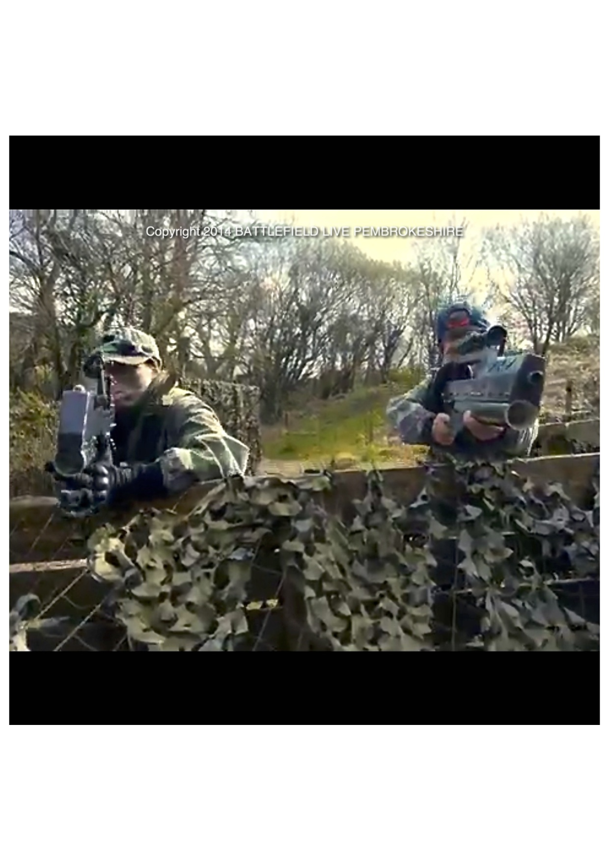 Action and Adventure at Battlefield Live Pembrokeshire Laser Combat