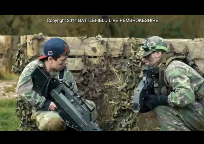 Action, adventure and fun at battlefieldlivepembrokeshire.co.uk laser combat