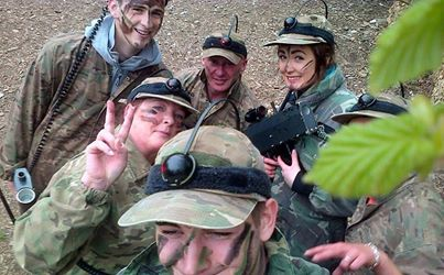 #battlefieldselfie Action & Adventure at Battlefield Live Pembrokeshire Laser Combat