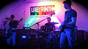 Pembrokeshire-based young rock band