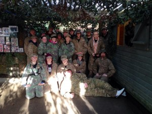 Hens v Stags at Battlefield Live Pembrokeshire Laser Combat